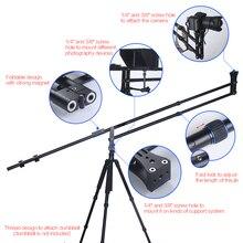 ФОТО Manbily 60ft Foldable Extendable small Portable DSLR Mini Camera Jib Crane video Arm Crane camcorder Sunrise mini Jib jimmy