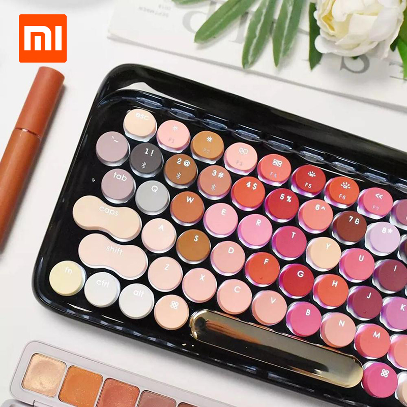 Xiaomi Lofree Wireless Bluetooth Mechanical Keyboard Bloom Version Charming Gaming Keyboard With LED Backlight
