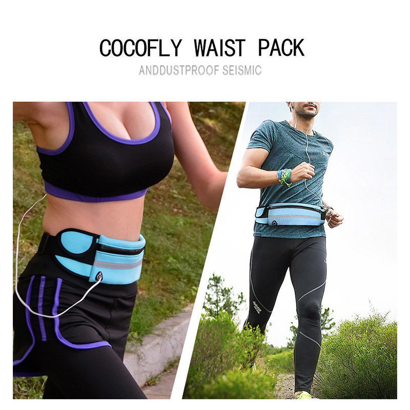 2019 Waist Pack Men Women Fashion Pack Belt Money For Running Jogging Cycling Phones Sport Running Waterproof Belt Waist Bags
