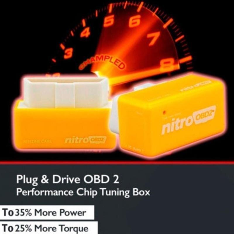 Eco Economy Fuel Saver ECOOBD2 ECO OBD2 Tuning Box Chip For Petrol Car Gasoline Saving Green Blue Petrol Car Gasoline Saver New