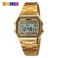 SKMEI 1123 Brand Luxury Fashion Men Sport Digital Watch 30m Waterproof Chrono Relogio Alloy Masculino Top