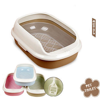 Cat Toilet Litter Durable Box
