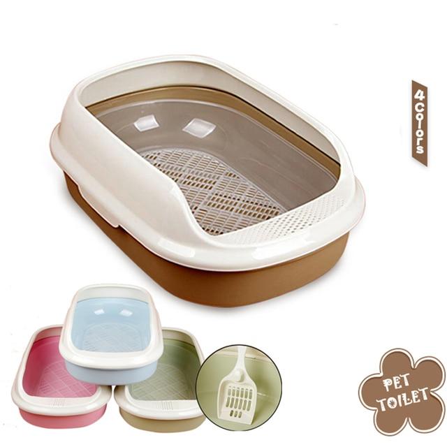 Cat Toilet Litter Durable Box
