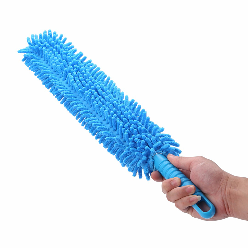 Interior Accessories 1pcs 16inch Flexible Car Wash Brush Long Microfiber Noodle Chenille Alloy Wheel Cleaner Car Cleaning Tool Cheap Sales 50%