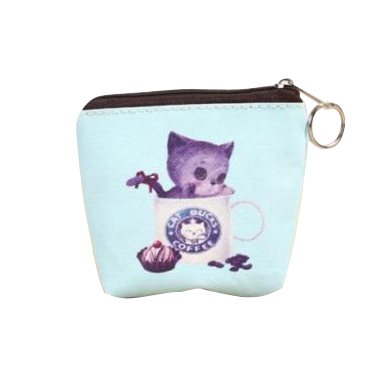 SNNY Women Girls Cute Zip Leather Coin Purse Wallet Bag Change Pouch Key Card Holder #22 ...