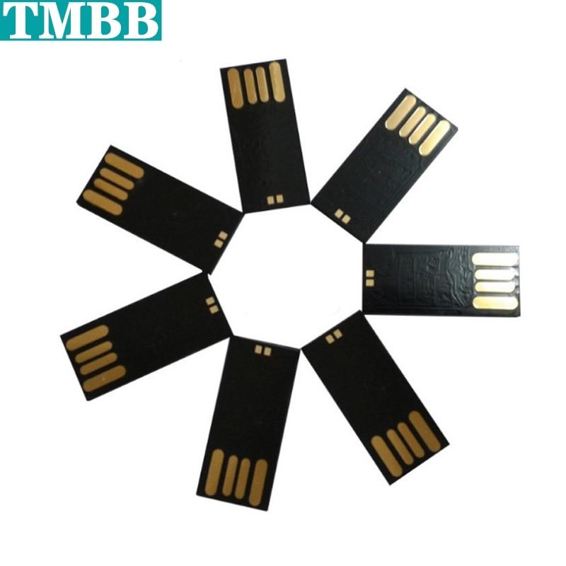 2020 10pcs Waterproof USB Disk Package 128M 512M 4GB 8GB 16GB 32GB 64G 128G USB 2.0 Flash Disk Semi-finished Products Wholesale