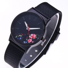 New Arrival Unisex Men Watches Womens Fashion Picture Design Silicone Band Analog Alloy Quartz Wrist Watch Clock #500717