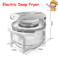 Multifunctional Microwave Oven Frying Pan 1300W Electric Deep Fryer 220V Air Fryer CKY 888