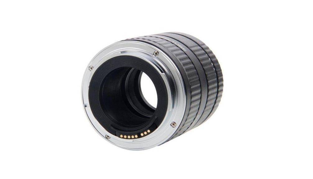 Viltrox DG-C monture en métal Auto Focus AF Macro Extension Tube adaptateur d'objectif pour Canon EOS 750D 700D 800D 77D 60D 5D II IV 7D II 80D - 2