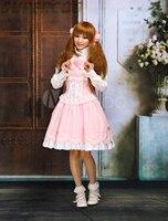 Free shipping! New Arrivals! High quality! Sweet Ruffles Sleeveless Cotton Lolita Dress