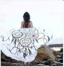 2016 Nueva Llegada Impreso Borla Tapiz Mandala India Todo el Tejido Protector Solar Mantón Del Cabo Inicio Decoración de Pared Poliéster Toalla de Playa