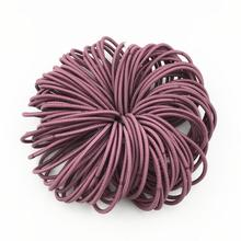 Wholesale 50 PCS New Black Brown Coffee Blue Ponytail Holders Rubber Band Tie Gum Elastic Hair Band Hair Accessories For Women