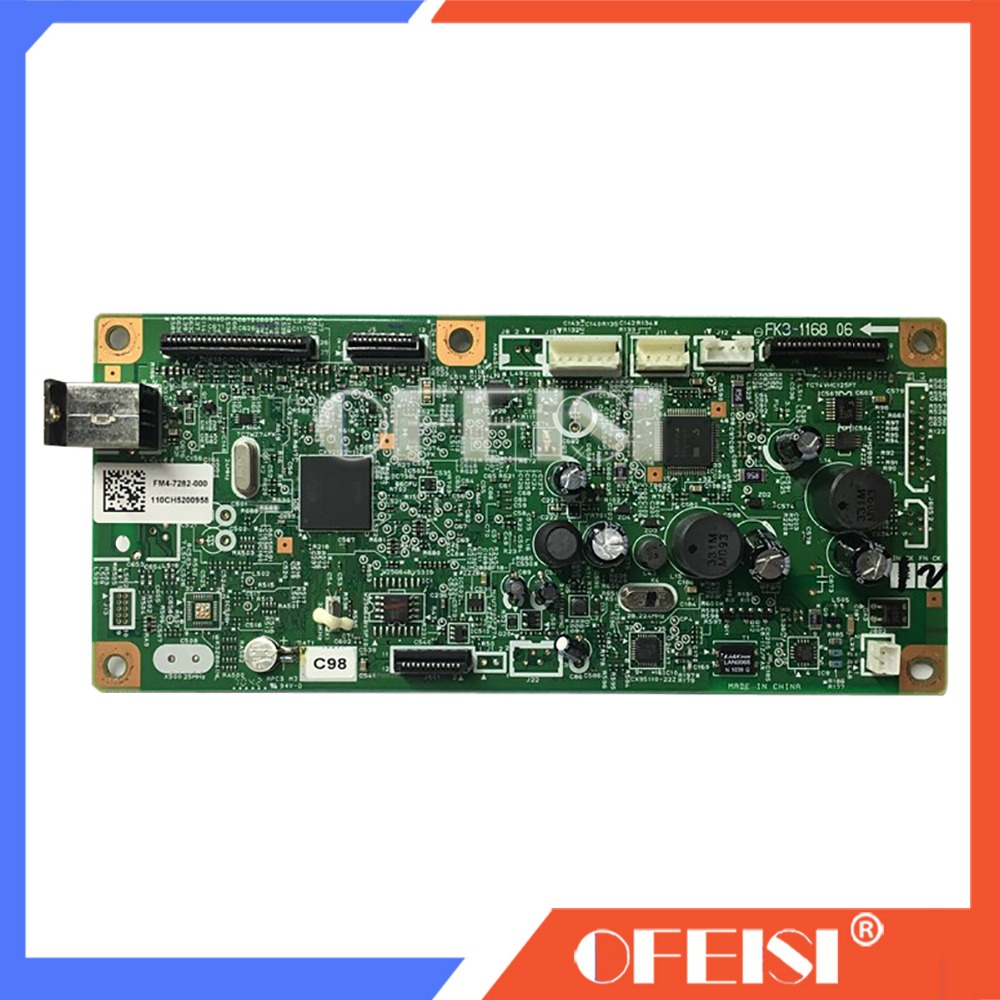 FORMATTER PCA ASSY Formatter Board logic Main Board For Canon MF4410 MF4412 MF 4410 4412 FM4-7175 FM4-7175-000 printer parts image