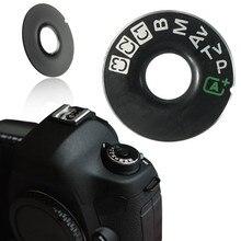 Для Canon EOS 5D Mark III 5D3 Dial Mode Крышка для интерфейса Ремонт Часть Dial Mode Крышка для интерфейса камеры