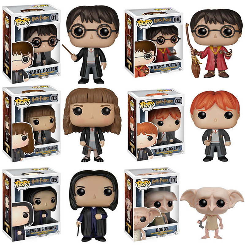 Funko POP Anime Harry potter brinquedos Action Figure toys for children birthday Gift фигурка funko pop harry potter – hermione granger with time turner 9 5 см