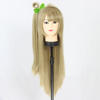 HSIU LoveLive Love Live Cosplay Wig Kotori Minami Costume Play Adult Wigs Halloween Anime Hair Free