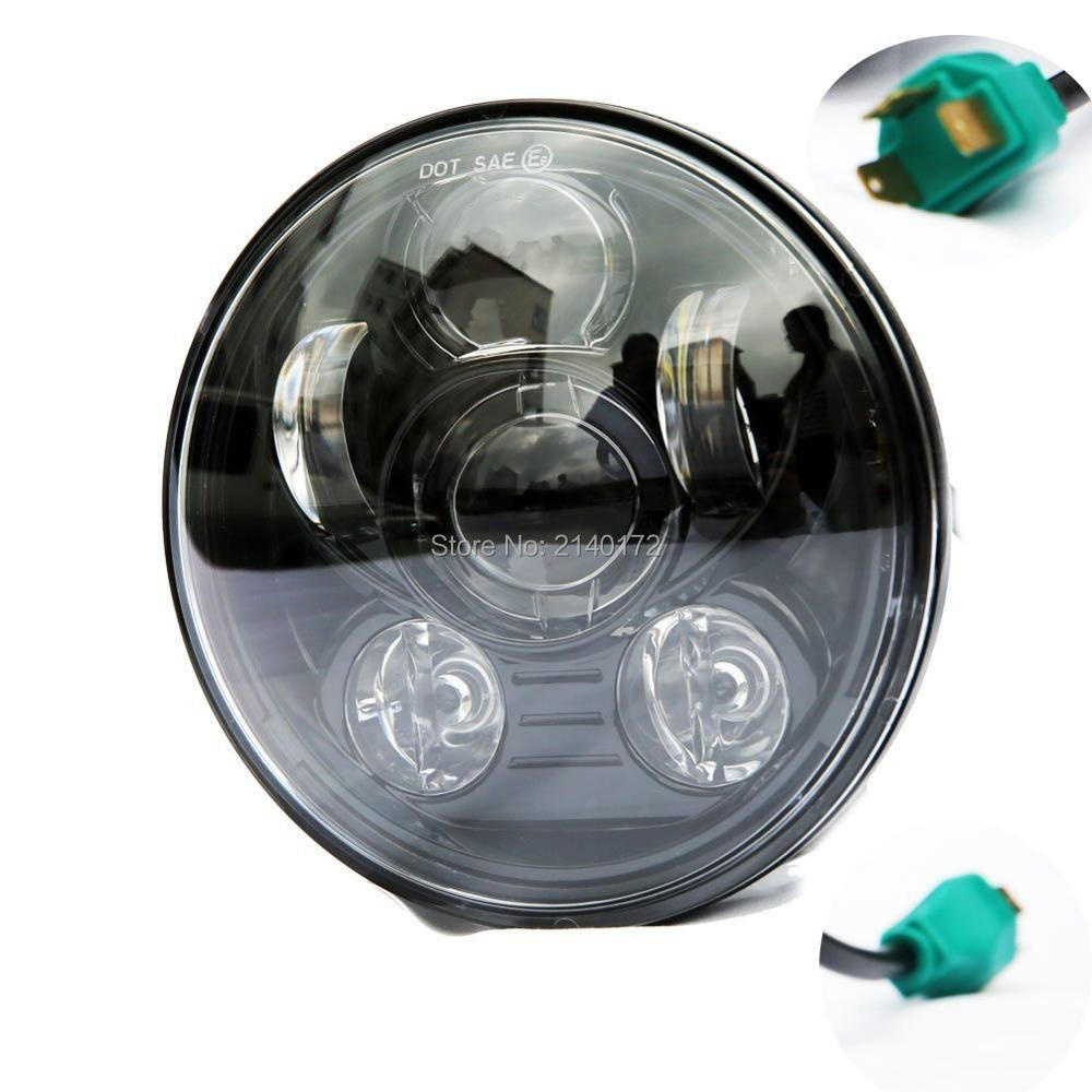 Motos Accessories 5.75 led headlamp 5.75INCH Round 40W Daymaker Projector LED Headlight for Harley Sportster