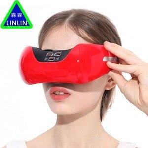 Image 2 - LINLIN Kablosuz şarj göz koruma enstrüman, 3D yeşil ışık görüş kurtarma eğitim enstrüman, EMS darbe göz masajı.