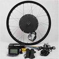 """LCD + 48V1500W Hi Speed Bicicleta E Motor de Cubo Bicicleta Eléctrica Conversión Kit-26 """"Trasero"""