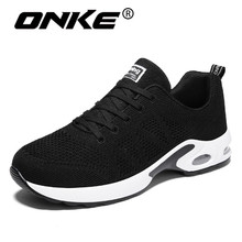 Onke New Style Running Shoes for Men Super Cool Black Sports Man Sneakers Damping Lightweight Trainers Gym Athletic Shoe