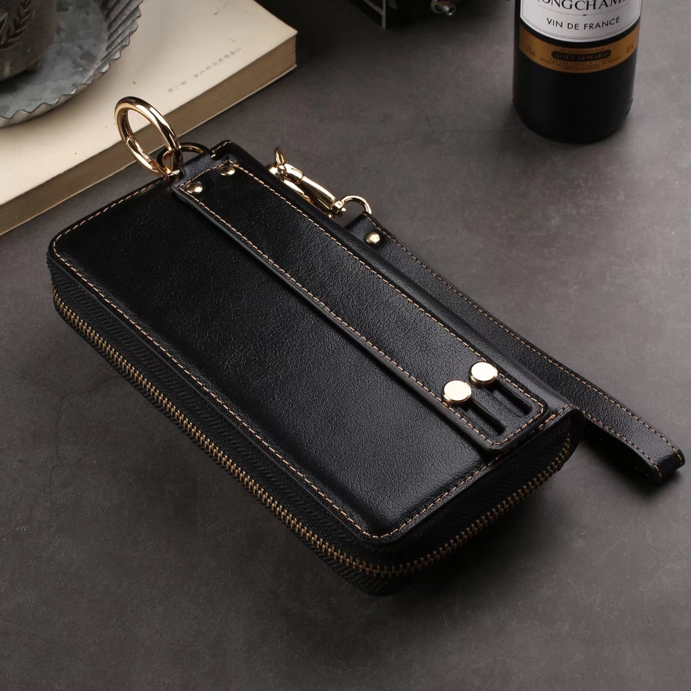 Universal Belt Clip Leather Phone Bag Case For iPhone 8 6 7 5 x Case For Samsung S9 S7 S8 Hang Waist Bag Smart Phone 6.3 Below