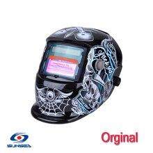 Promotion Solar flame Auto Darkening  Mig Tig Arc welding face shields  masks  hood Helmets, welding hat helmets goggles CE