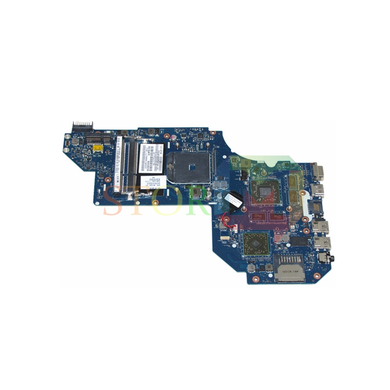 NOKOTION for hp pavilion m6 m6-1000 laptop motherboard 687229-001 LA-8712P socket FS1 a70m hd7670m ddr3 nokotion 653087 001 laptop motherboard for hp pavilion g6 1000 series core i3 370m hm55 mainboard full tested