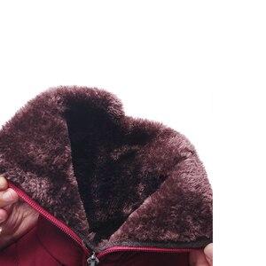 Image 4 - TIMETANG 2019 yeni kaymaz su geçirmez kışlık botlar artı pamuk kadife kadın ayakkabı sıcak ışık büyük boy 41 42 kar bootsE1872