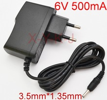 1PCS 6V 500mA Charger for Philips Phone CD27xx CD28xx CD68xx CD18xx Wall Power Supply Adapter For PHILIPS SSW 1920EU 2