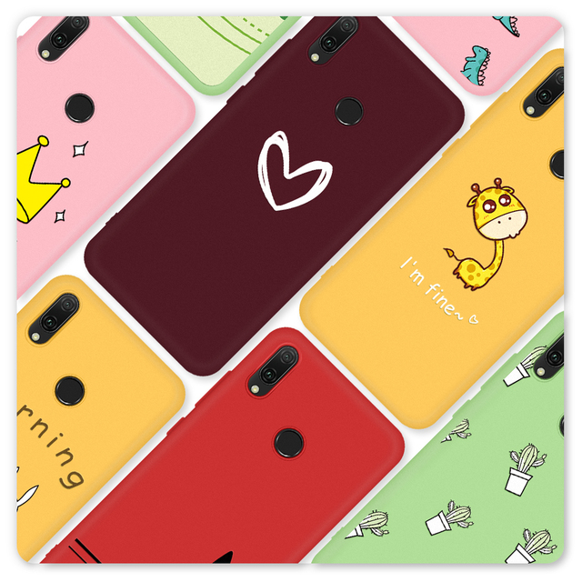 Funda de teléfono patrón para Huawei P30 P20 P10 Mate 20 10 Lite P30 P20 Pro suave TPU contraportada teléfono funda para Huawei P20 Lite 2019