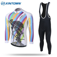 2017 XINTOWN Specialized MTB Pro Team Cycling Jersey Long Sleeve Men Bike Custom Maillot Ropa Ciclismo