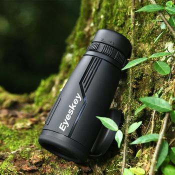New arrival Eyeskey telescope 8x42 Portable Waterproof Monocular Quality for Hunting High Power Monocular with BaK4 Prism Optics