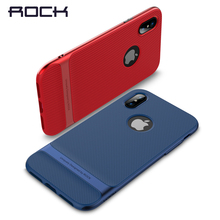 Чехол для iPhone x, гибридный материал Rock Royce PC + TPU гальванический чехол для iPhone