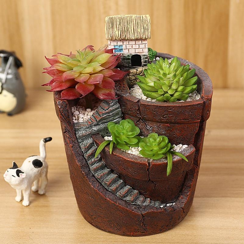 macetas de plantas de interior