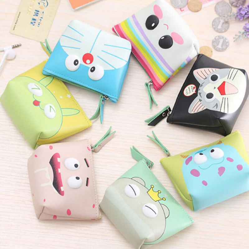Cute Cartoon Totoro Coin Purses Holder Women Mini Change Wallets Girl Kids Money Bag Coin Bag Children Kids Zipper Small Pouch fashion women mermaid paillette coin purses holder girl children mini change wallets money bag coin bag children zipper pouch