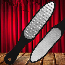 1pc Double Side Stainless Steel Foot Rasp Callus Dead Skin Remover Exfoliating Pedicure Hand Manual Foot File Foot Care Tool