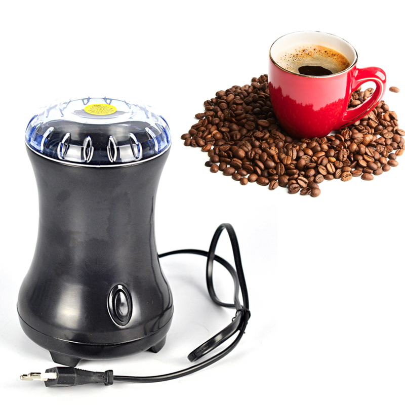 Electric Coffee Spice Grinder Maker with Stainless Steel Blades Beans Mill Herbs Nuts Moedor de Cafe Home Use Drop Shipping