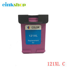For HP 121XL Tri-Color Ink Cartridges CB644HE for hp Deskjet 1050 2050 2050s F2423 F2430 F2476 F2480  Free shipping картридж с чернилами uniprint 2 121xl hp 121 xl hp deskjet 2050 1050 f2480 f2492 for hp121
