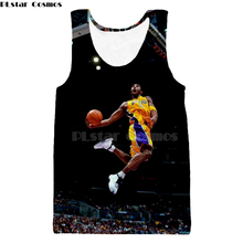 84e4d3274dd7 PLstar Cosmos New Fashion basketball vest t-shirt celebrity Stephen Curry LeBron  James Print