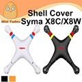 Original syma x8w x8c repuestos main body shell cover set para syma rc quadcopter