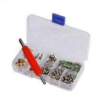 durable 135pcs Set Automotive Car Air Conditioning Valve Core&Disassembly Tool Accessory