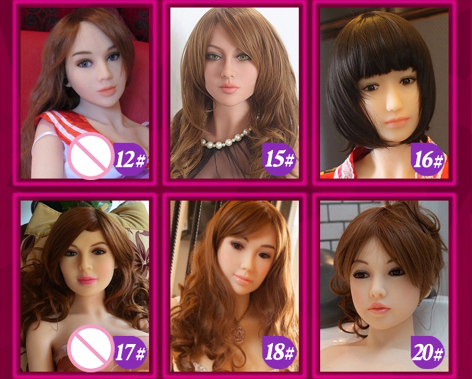 choose your sex doll face and hair