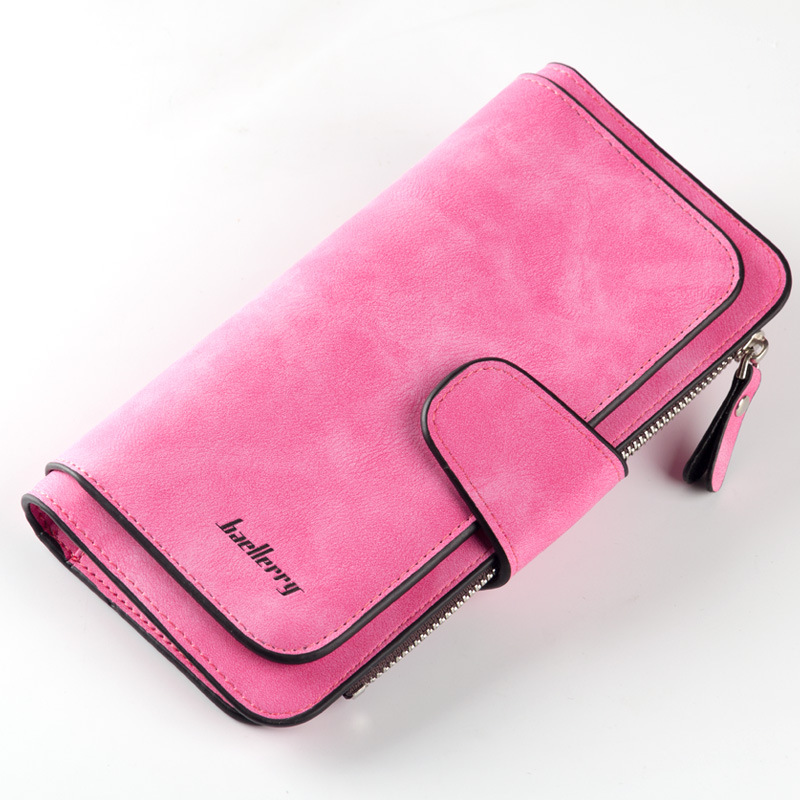 Baellerry Brand Wallets Women Scrub Leather Lady Purses High Quality Ladies Clutch Purse Long Female Wallet Carteira Feminina. baellerry brand new fashion women wallet leather wallets women wholesale lady purse high capacity clutch bag women gift 7 colors