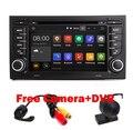 """7 """"сенсорный Экран Автомобиля DVD GPS для Audi A4 Android 5.1 (2002-2008) год с Wifi 3 Г GPS Bluetooth Радио RDS USB SD Свободная камера + Карта"""
