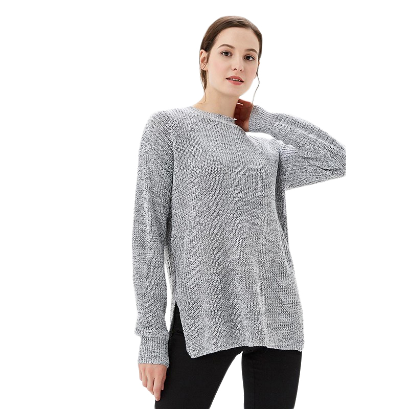 Sweaters MODIS M182W00352 jumper sweater clothes apparel pullover for female for woman TmallFS bear patched plus size pullover sweater