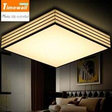 Km Nouveau! favorable Led Plafonnier Ac85-265v Éclairage Intérieur Rond/carré Chambre Salon Lampe Foyer Lampes Livraison gratuite