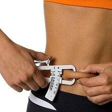1 шт. личный прибор для измерения потери жира в теле калькулятор штангенциркуль фитнес клипса инструмент для измерения потери жира тестер