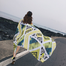 2018 новые Стиль Мода прямоугольник пляжные Полотенца с Ленточки из микрофибры 180*90 см Пикник Одеяло коврик гобелен фото реквизит