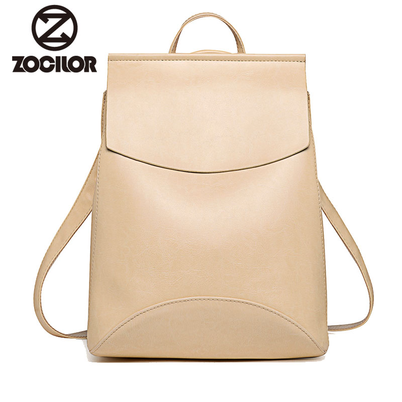 New Fashion Women Backpack Youth Vintage Leather Backpacks for Teenage Girls New Female School Bag Bagpack mochila sac a dos(China)
