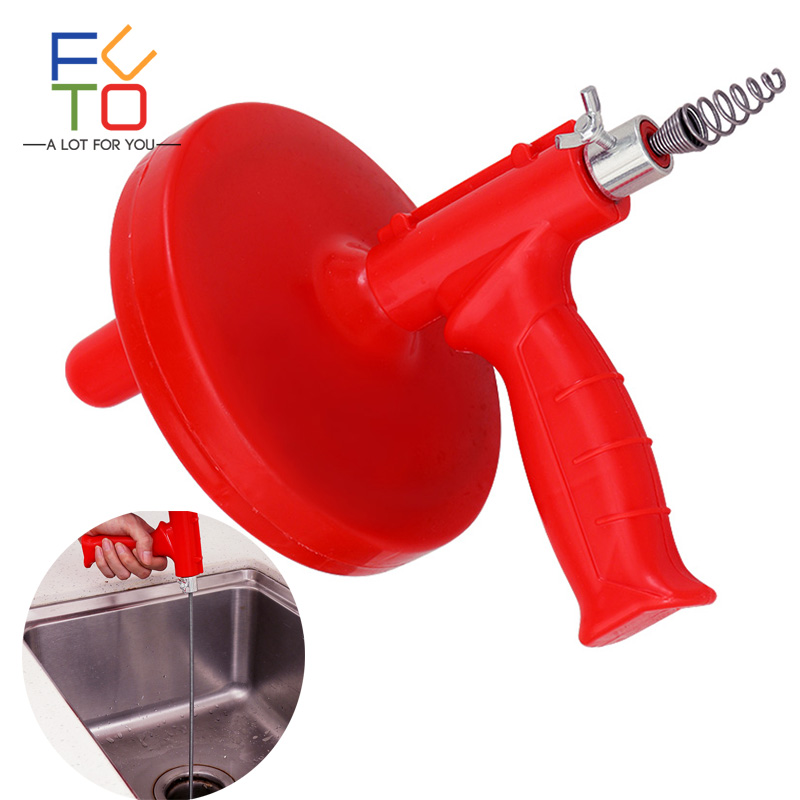5M Drain Cleaner Snake Kitchen Plumbing Sink Cleaner Bathroom Shower Drain Toilet Dredge Pipes Sewer filter Sink Cleaning Clogs